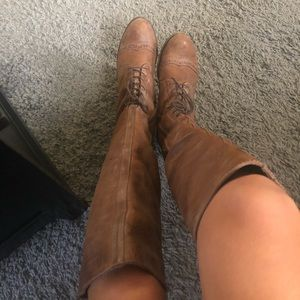 """Steve Madden """"aubree"""" knee high boots size 8"""